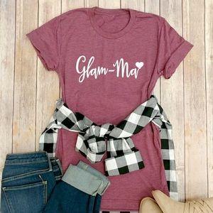 👚 GlamMa TShirts - Tees for Grandmother - NEW/NWT